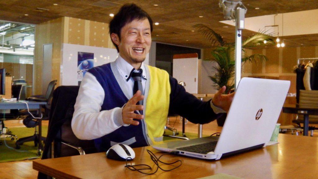 斉藤輝之氏